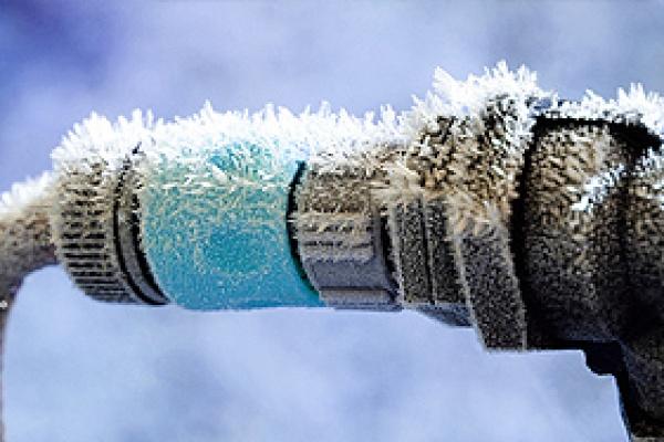 Degeler conduite eau